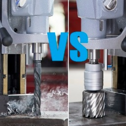 Twist Drilling vs. Annular Cutting