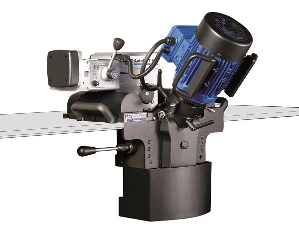 Automatic plate beveling machine